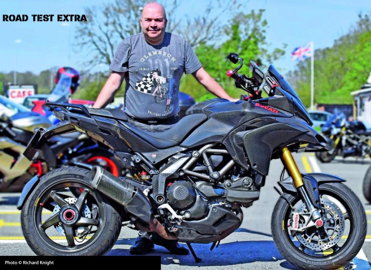 Ducati Multistrada 1200S MRA X-creen