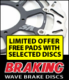 braking wave discs for motorbikes