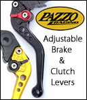 CRG and Pazzo Motorcycle Brake and Clutch Levers