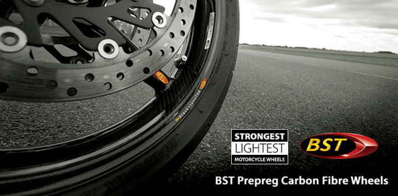 BST Carbon Fibre Motorcycle Wheels