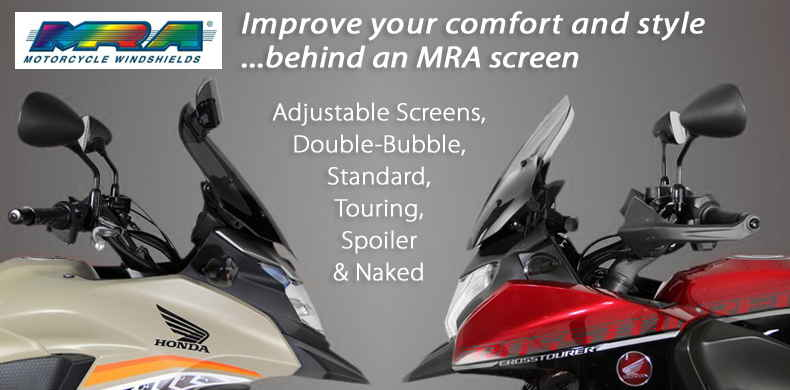 MRA Motorcycle Screens Windshields