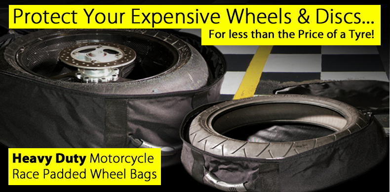 Heavy Duty Motorcycle Wheel Bags